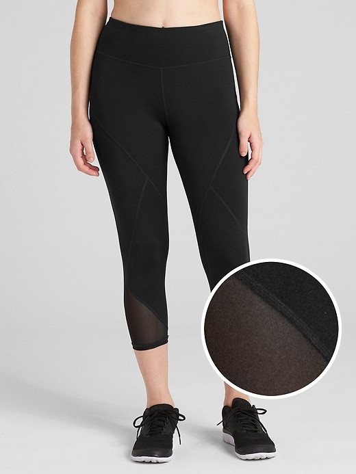 GFast Mid Rise Capris in Eclipse
