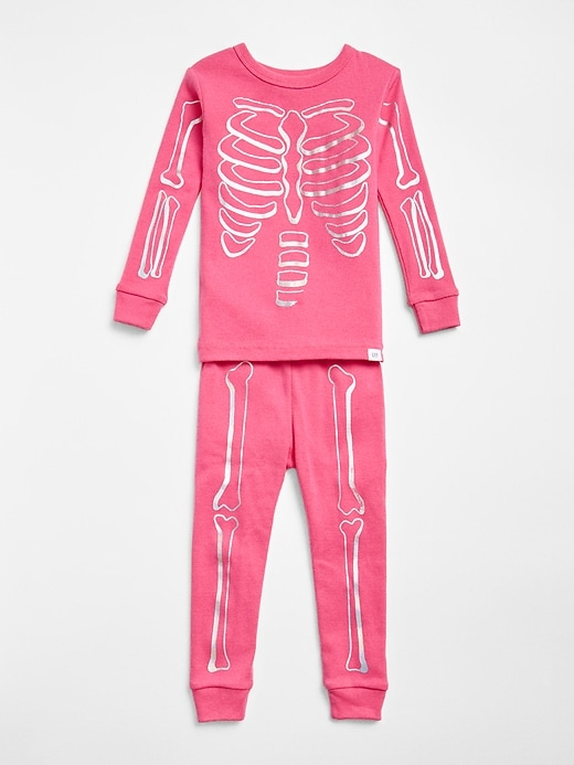 Gap Baby Skeleton Pj Set Devi Pink Size 18-24 M