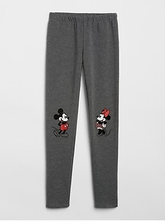 GapKids &#124 Disney Minnie Mouse and Mickey Mouse Leggings