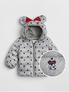 babyGap &#124 Disney Minnie Mouse ColdControl Lite Puffer Jacket