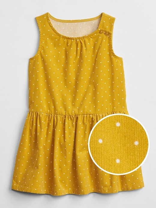 Cord Fit And Flare Dress by Gap