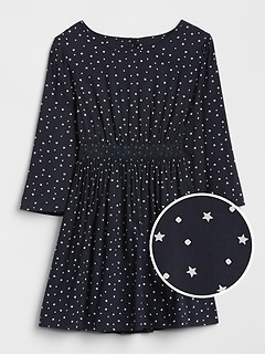 Smocked Star Dress