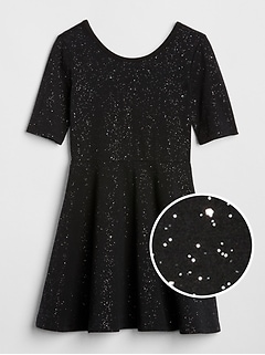 Sparkle Fit and Flare Dress