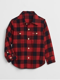 Buffalo Plaid Long Sleeve Shirt