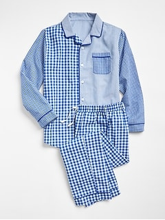 Big Dreams Plaid PJ Set