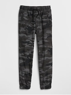 Lined Pull-On Joggers