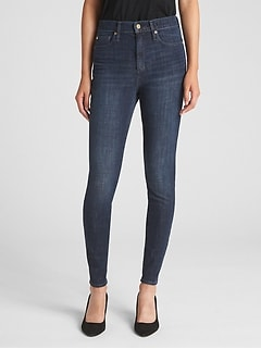 High Rise True Skinny Jeans in 360 Stretch