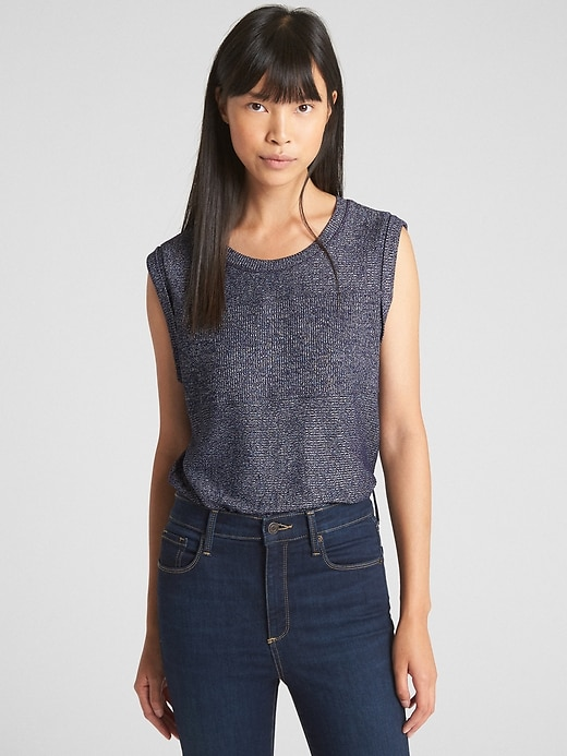 Ribbed Softspun Tank Top by Gap