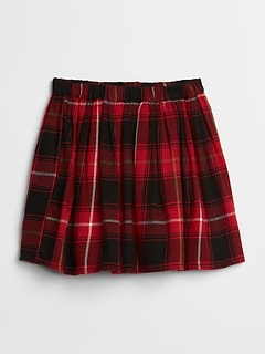 Flannel Flippy Skirt