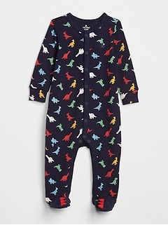 Favorite Dino Footed One-Piece