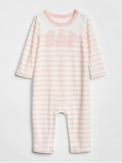 Logo Stripe One-Piece