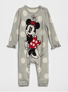 babyGap &#124 Disney Minnie Mouse One-Piece