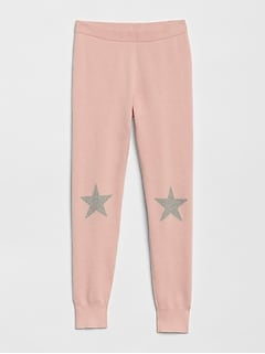 Kids Star Sweater Leggings