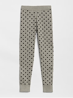 Dot Sweater Leggings