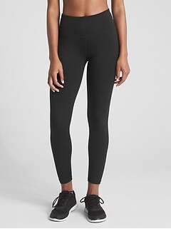 GapFit High Rise Full Length Leggings in Eclipse