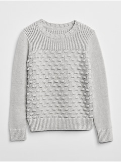 Mix-Texture Sweater