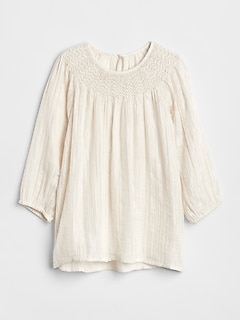Smocked Sparkle Top