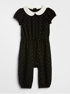 Collar Dot One-Piece