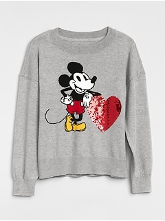 GapKids &#124 Disney Mickey Mouse Sweater