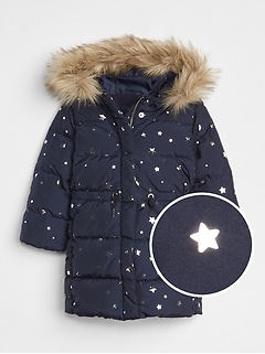Toddler Coldcontrol Max Long Puffer Jacket