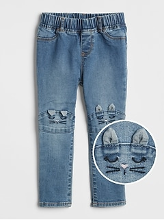 Indestructible Superdenim Cat Jeggings