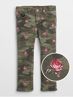 Superdenim Camo Super Skinny Jeans with Fantastiflex