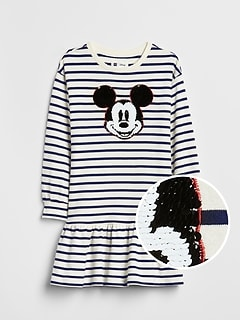 GapKids &#124 Disney Mickey Mouse Flippy Sequin Dress