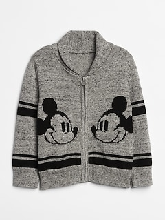 babyGap &#124 Disney Mickey Mouse Cardigan Sweater