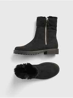 Cozy Zip Booties