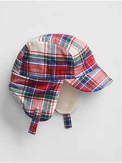 Plaid Trapper Hat