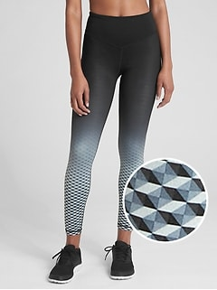 GFast Blackout V-Waist Ombre Print Leggings
