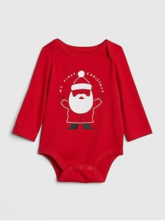 Santa Long Sleeve Bodysuit