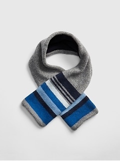 Crazy Stripe Fleece Scarf