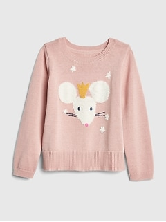 Mouse Crewneck Sweater