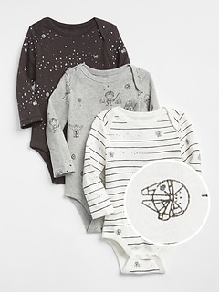 babyGap &#124 Star Wars&#153 First Favorite Bodysuit (3-Pack)