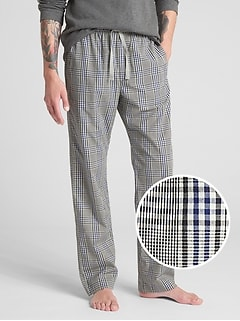 Pajama Pants in Poplin
