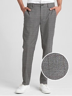 Brushed Twill Pants in Slim Fit with GapFlex