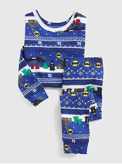 babyGap &#124 DC Batman Holiday PJ Set