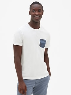 Logo Graphic Short Sleeve Pocket T-Shirt