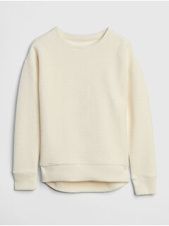 Velour Pullover Sweater