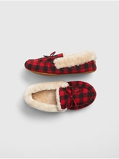 Cozy Buffalo Plaid Slippers