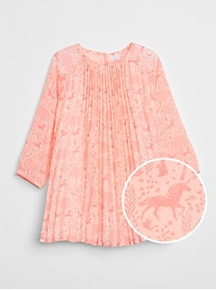 Gap &#124 Sarah Jessica Parker Pleated Dress