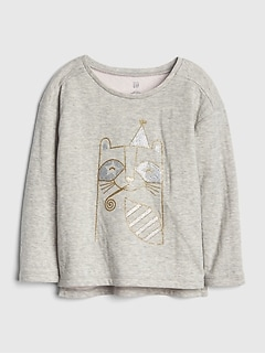 Graphic Double-Knit T-Shirt