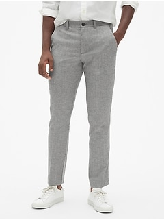 Wool Pants in Skinny Fit with GapFlex