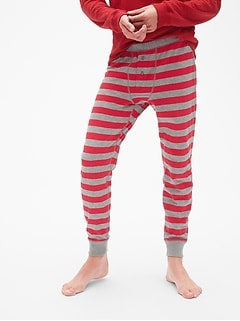 Stripe Long John PJ Pants
