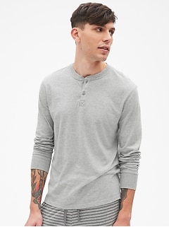 Soft Brushed Henley