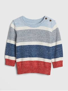 Print Pullover Sweater