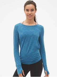 GapFit Breathe Tie-Back T-Shirt