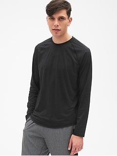 GapFit Long Sleeve Sport T-Shirt