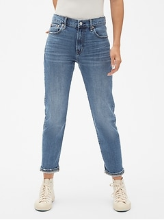 High Rise Best Girlfriend Jeans